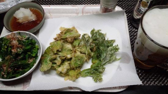 【画像】山菜の天ぷら作ったったwwww
