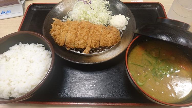 【松乃家】俺が最近ハマってる朝食500円wwwwwwwwwwww
