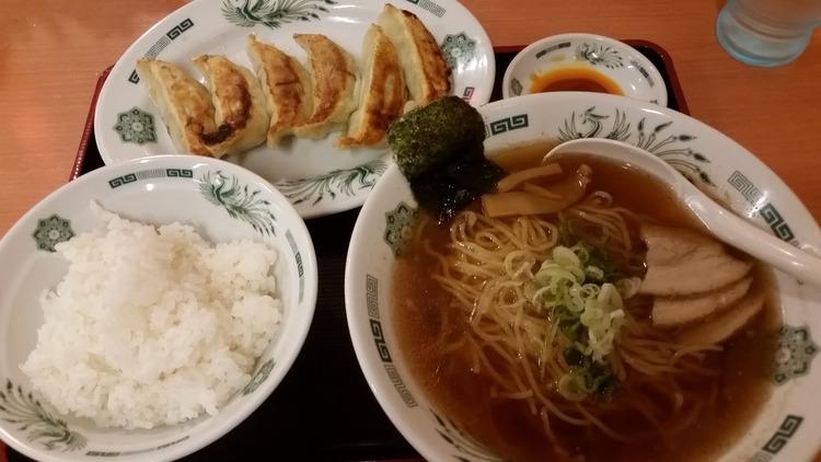 【8/28】日高屋ってゆう餃子ライス専門店に来ました@柏