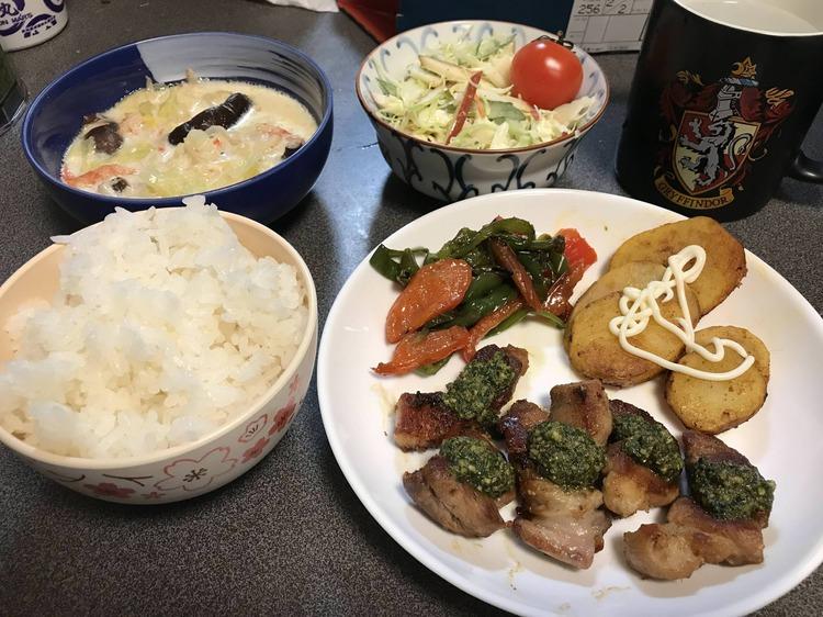 【画像】料理初心者の俺が飯を作ってみた