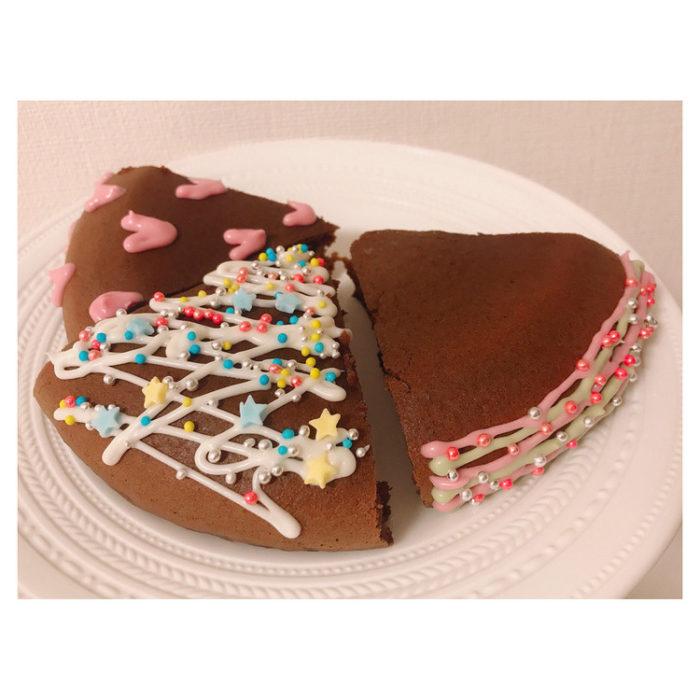 【悲報】道重さゆみさん(28歳)の作ったケーキが・・・・・・