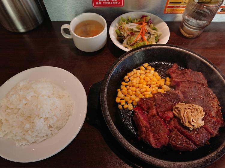 【画像有】いきなりステーキに来たったwww