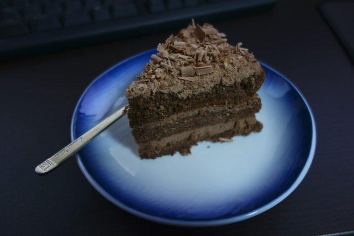 【画像有】チョコケーキ作った