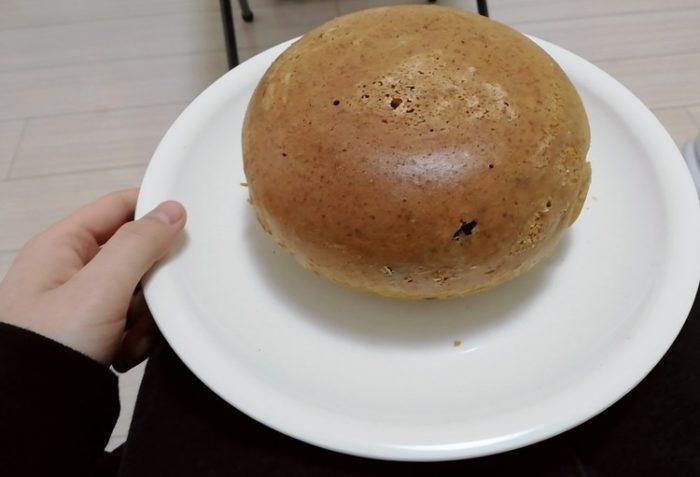 【画像】炊飯器でケーキ焼いた