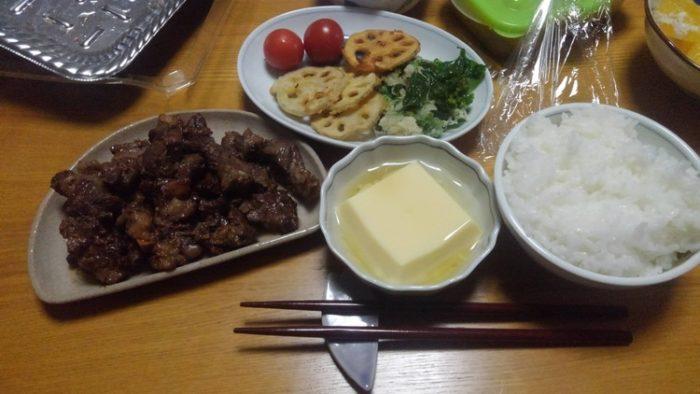 【画像】むちぼんってコテだけど今日は醤油ステーキです!(´・c_・`)