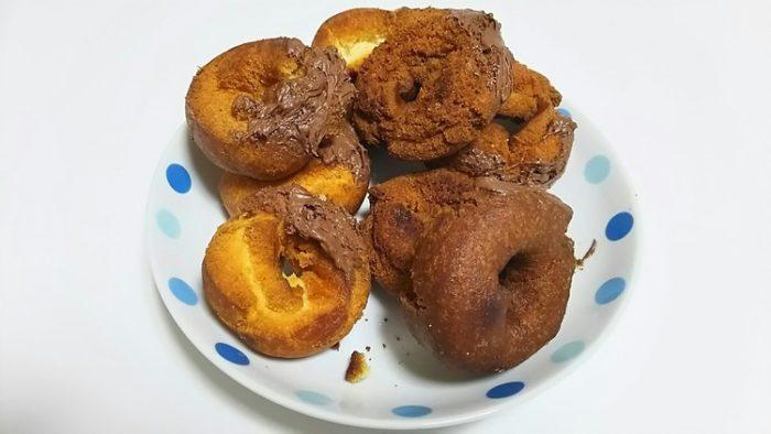 【画像】ドーナツ作ったよ