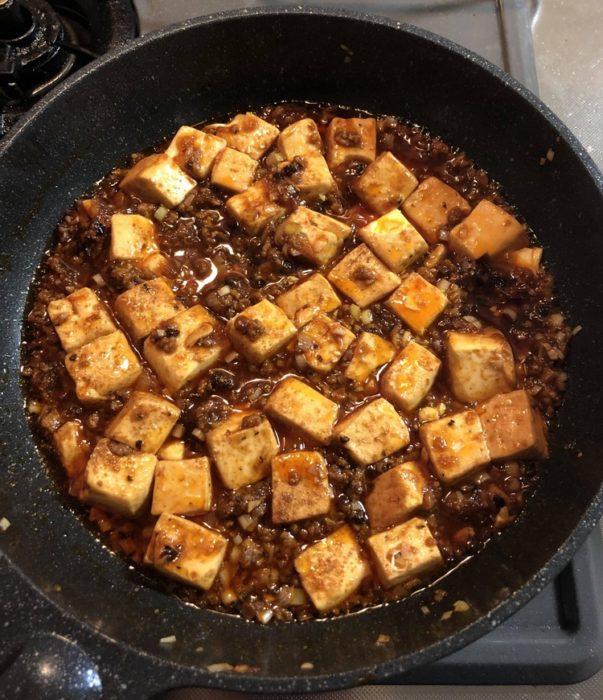 【朗報】ワイの作った麻婆豆腐クッソうまい