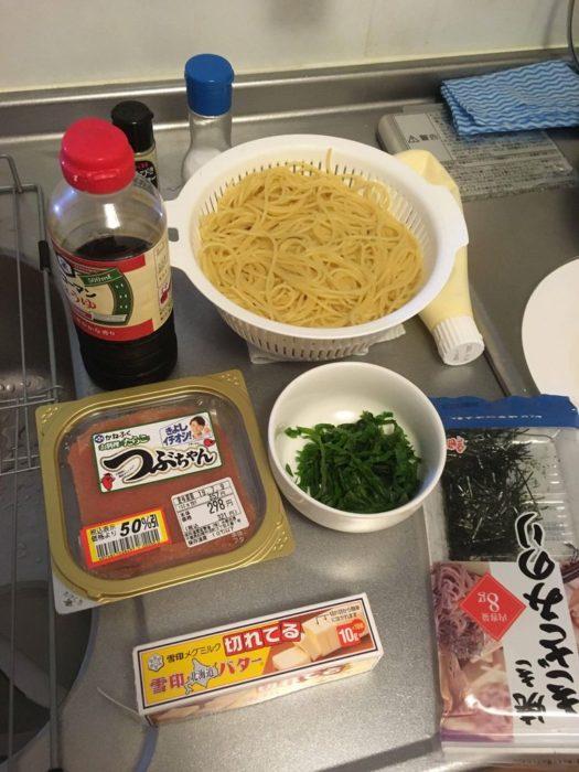 【画像有】 たらこスパゲッティ 手作りするよ