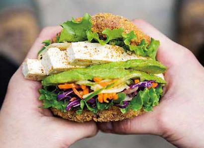 【SU&BU】北米で進化し続ける寿司 ついに「寿司バーガー」登場 カリッとクリスピーに揚げた寿司飯にたっぷりの具材を挟む