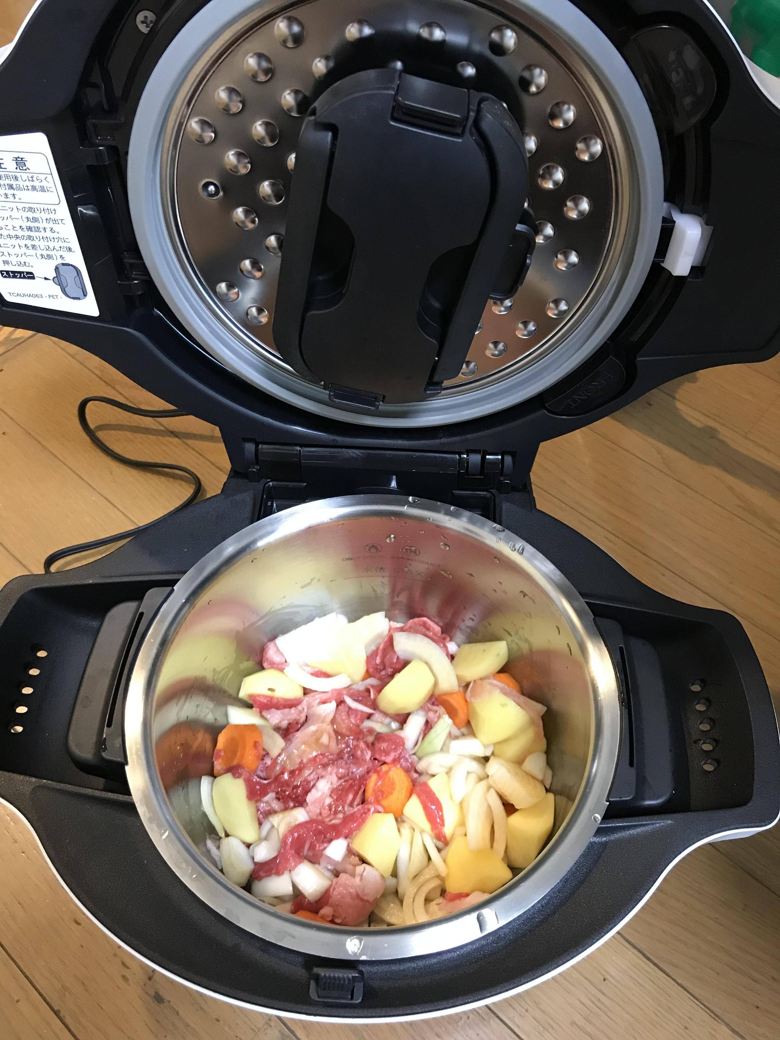 【画像有】自動調理鍋で肉じゃが作るンゴwwwwwwwww