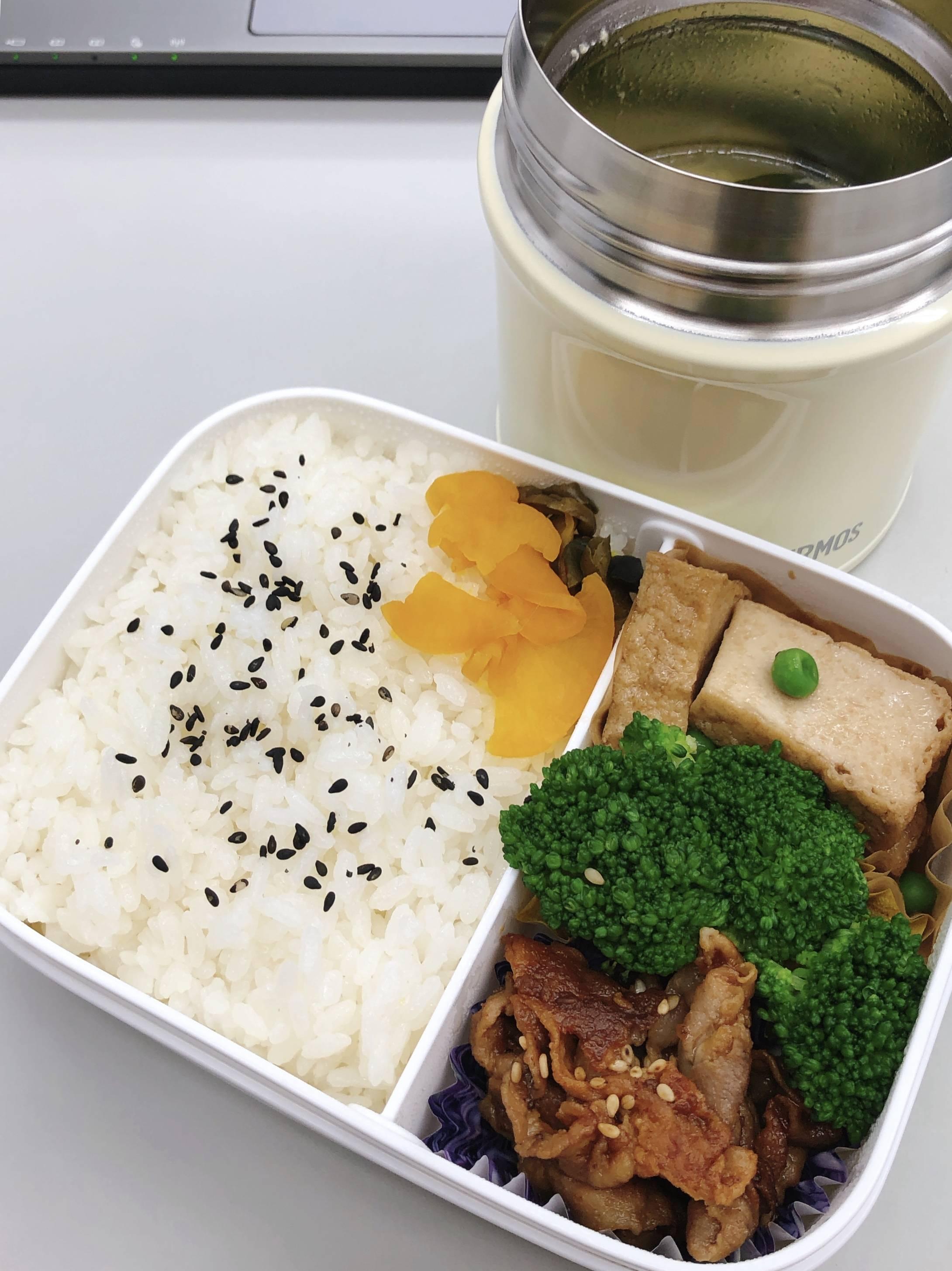 【画像】手作り弁当食べるよ(´・ω・`)