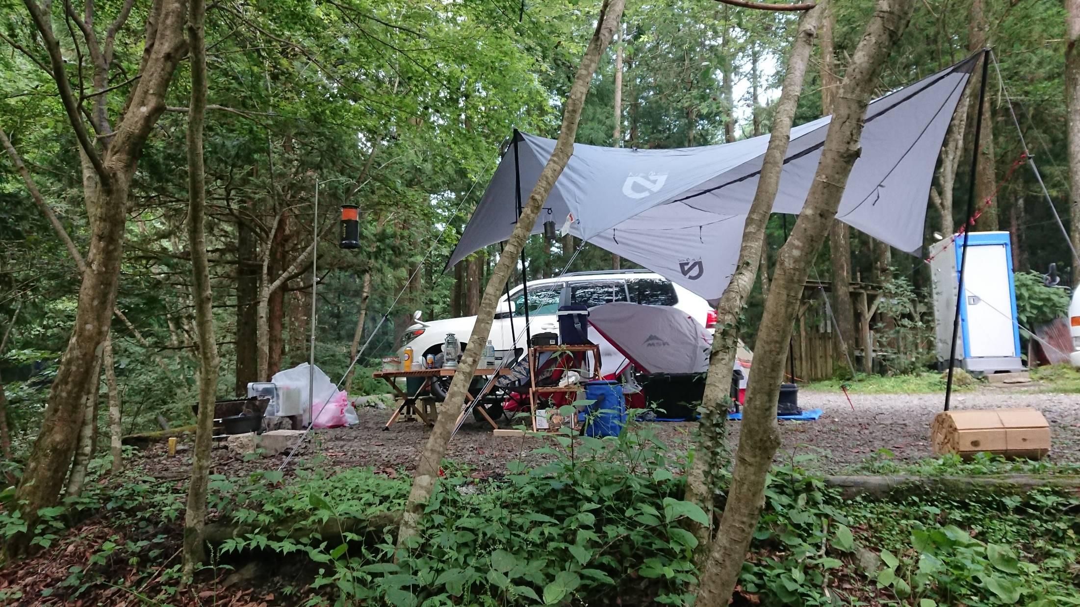 【画像有】キャンプ行ってきたよーー