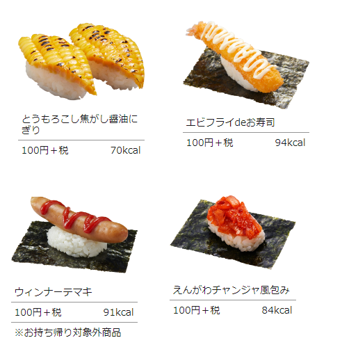 かっぱ寿司 とうもろこしスライスを寿司にする ※画像あり