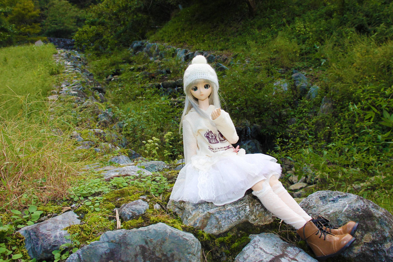 【画像あり】娘(人形)とコテージキャンプしてきたで!