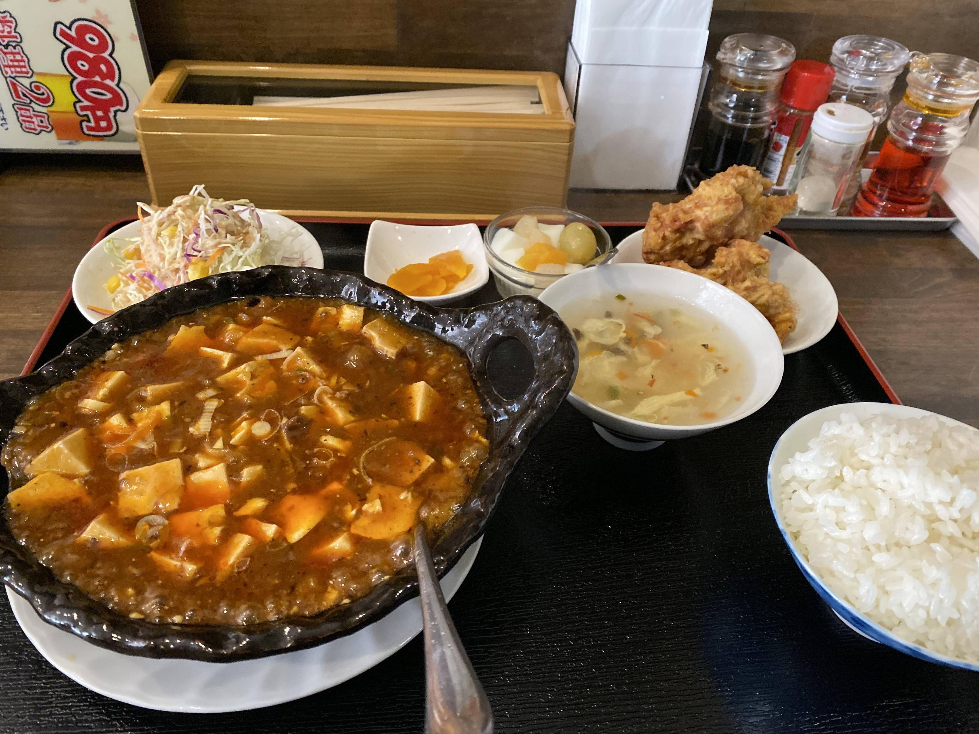 昼飯食いに中華料理屋きたやで