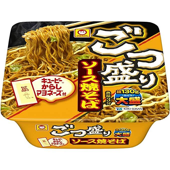 ごつ盛りソース焼きそば(からしマヨ付)88円←これwwwww