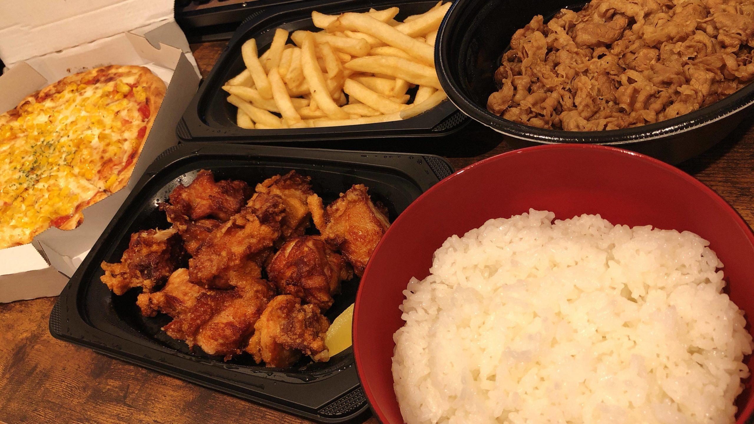 【画像】ど底辺おれの夜ご飯の食べ方wwww