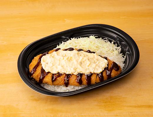 【画像】ローソンの新作弁当「大盛タルタルチキンカツ丼550円」をご覧下さい。