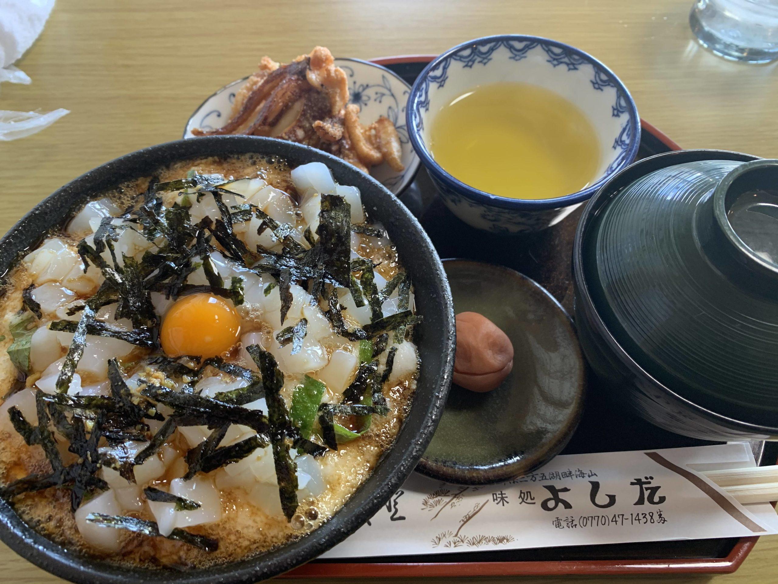 わざわざ福井県までイカ丼食いに来たったwwwwww