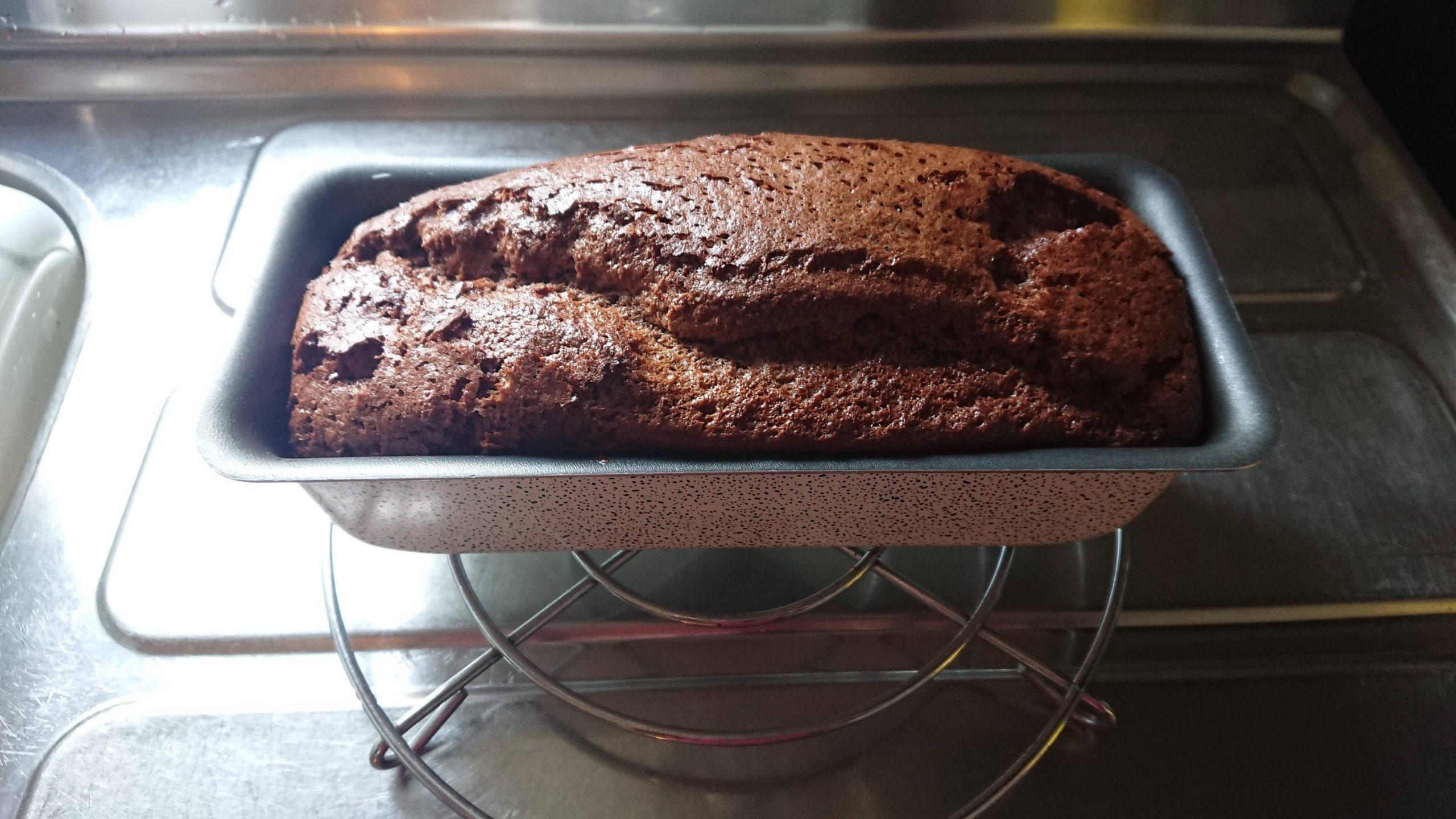 【画像】ケーキ(ガトーショコラ)焼いたんだが…