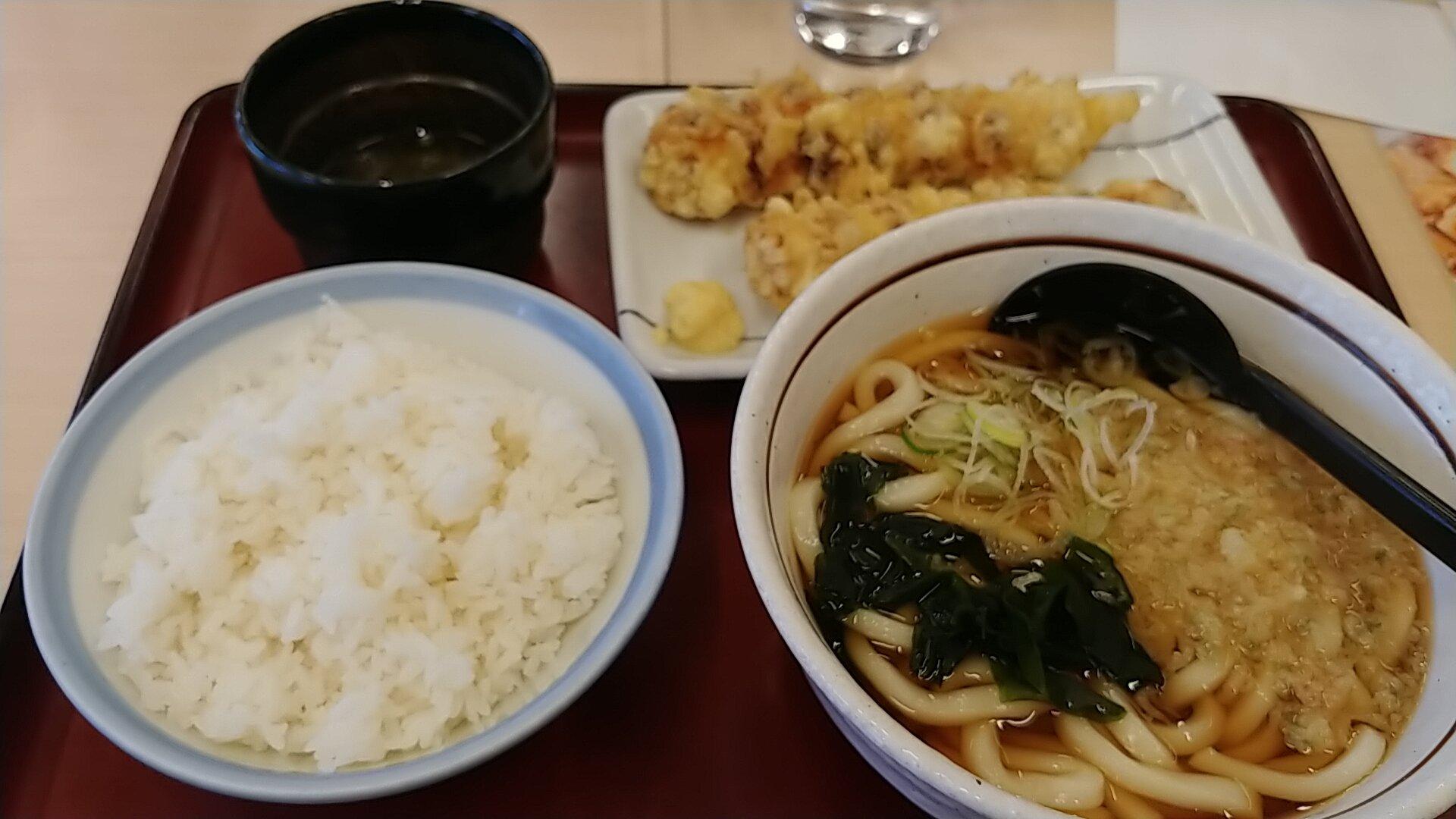 【画像】昼休みワイ、山田うどんで優雅な昼食wwwnwwwnwww