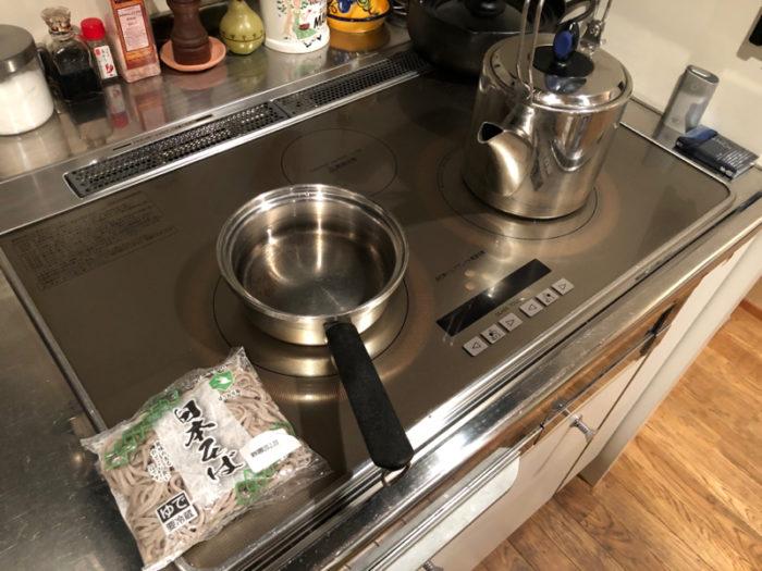 【画像】納豆かけそば作ろうね