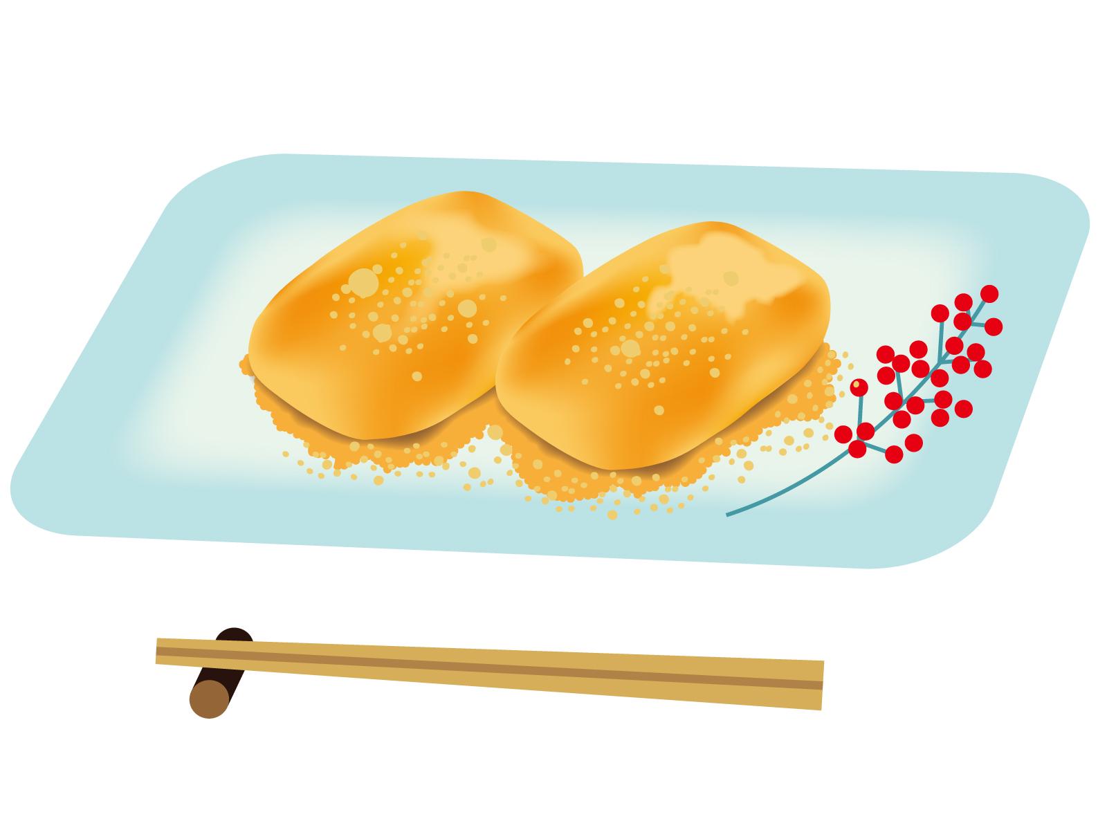 焼き餅をきなこもちにして食べるとおいしいね(´・ω・`)