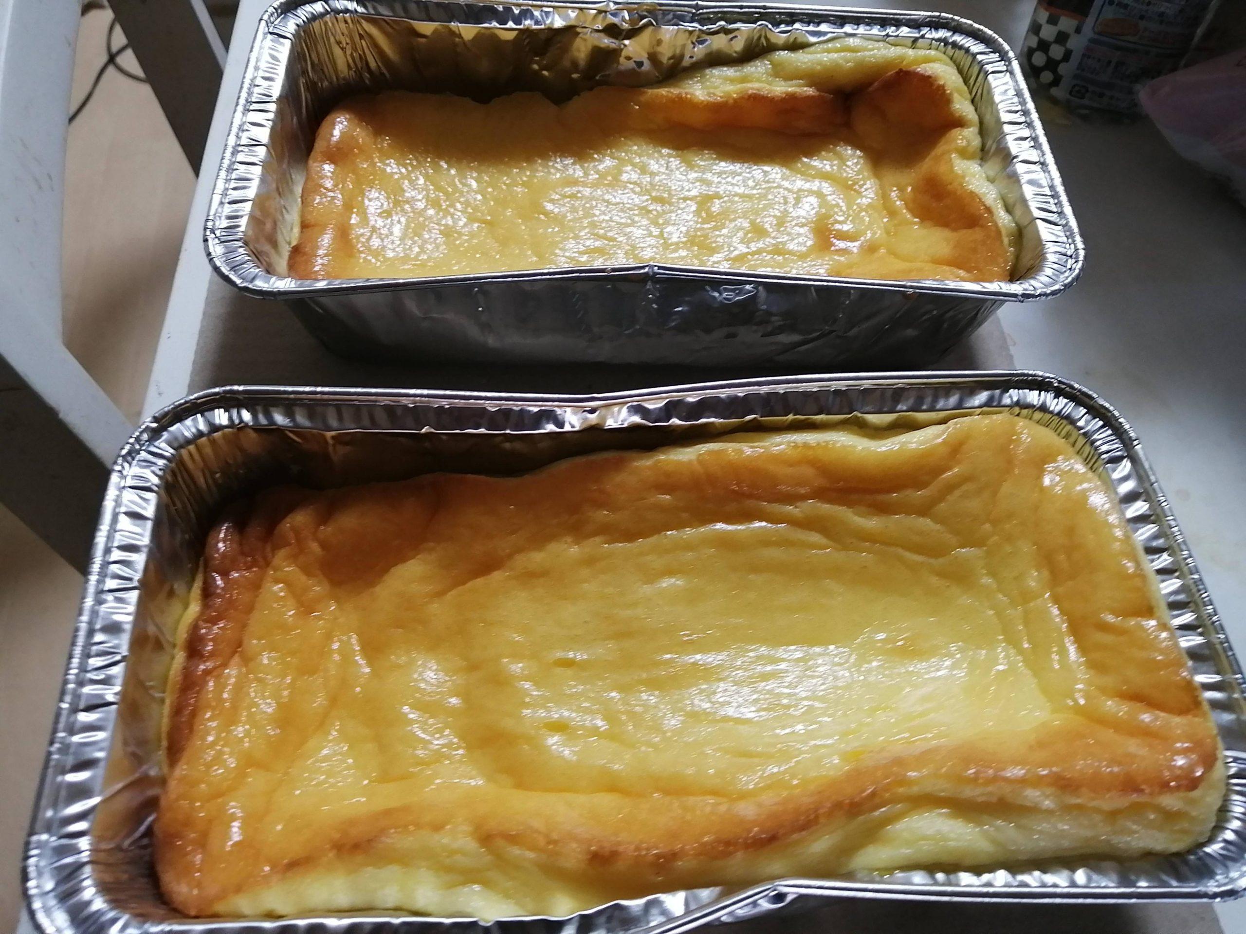 【画像】ワイニート、チーズケーキを焼く