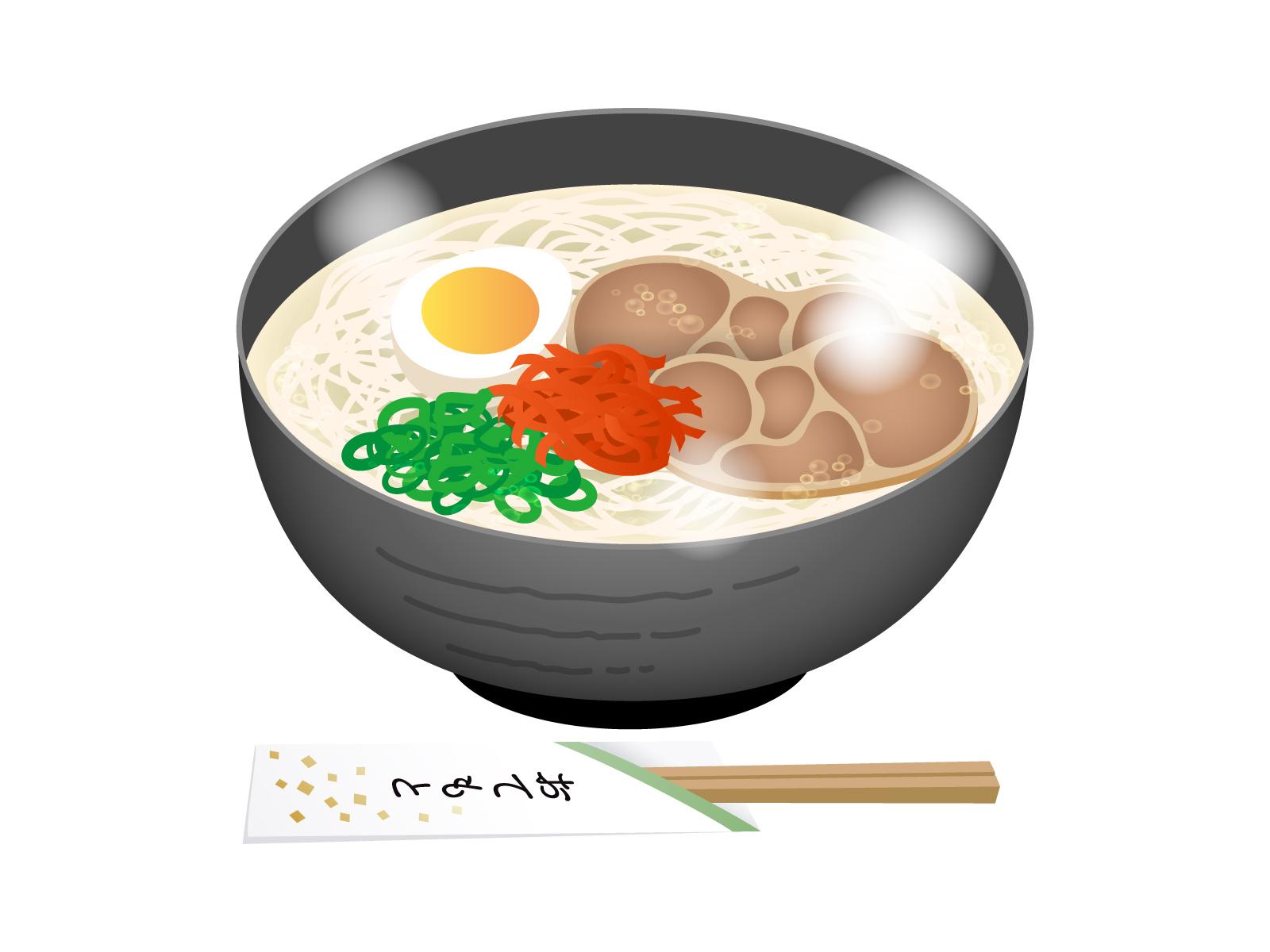 豚骨ラーメン屋「うちはスープによく絡むように太麺にしてます」