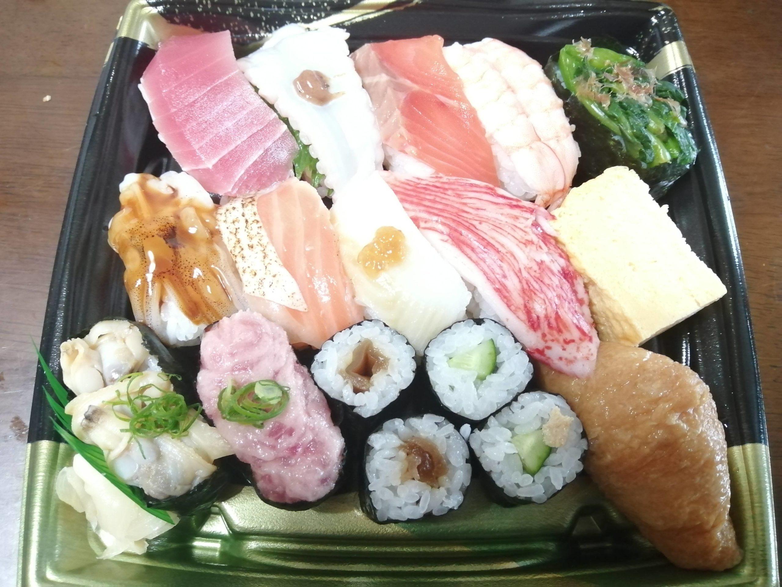 わいの今日買った寿司wwwwwwwww