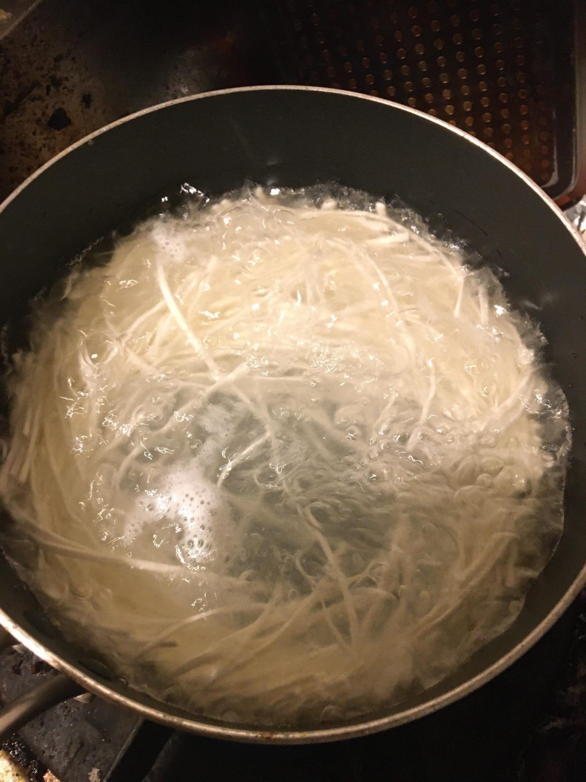 【画像有】腹減ったから釜玉うどん作る