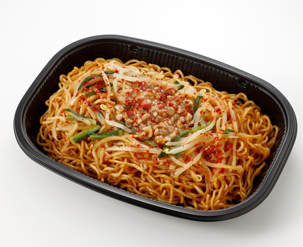 ローソン、名古屋の新ご当地グルメ「台湾まぜそば」全国発売 6月9日には「台湾焼そば」も追加 麺屋はなび監修