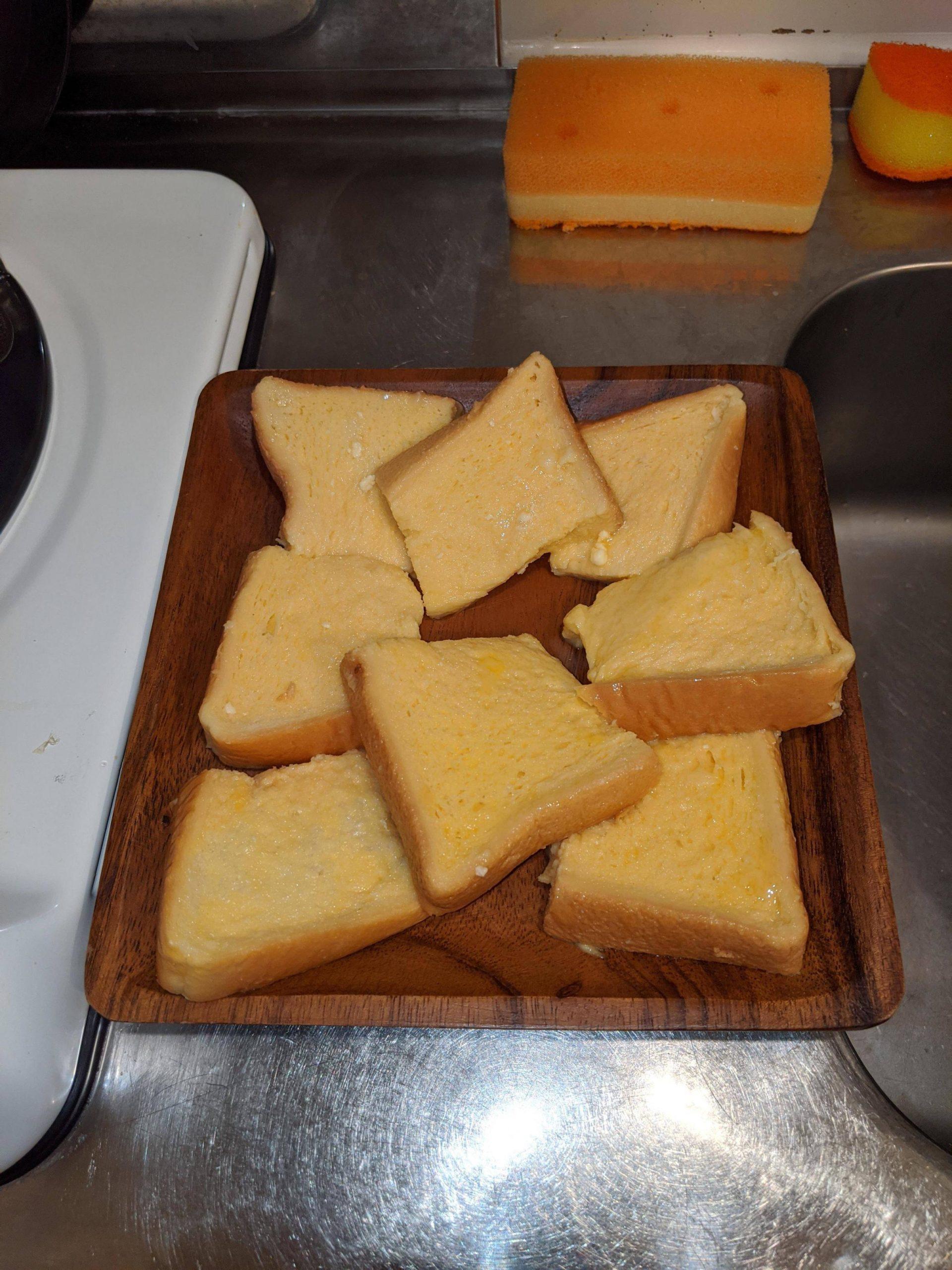 フレンチトースト作ろうと思うんだが液に浸すの30分くらいでいいの?
