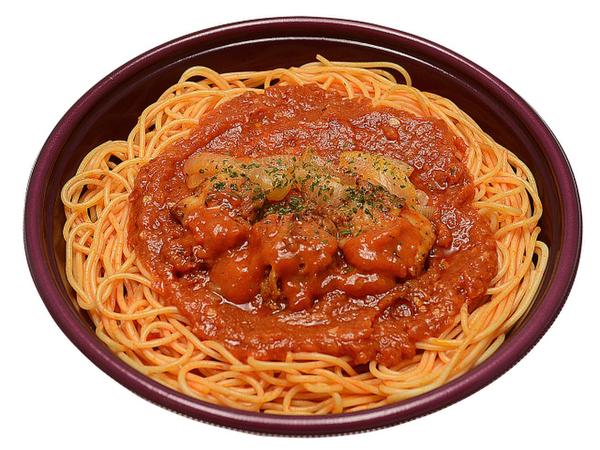 セブンイレブン「大盛り!ピリ辛トマトパスタ」を発売