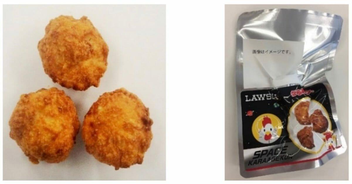 【宇宙食】ローソン スペースからあげクンが宇宙日本食に正式認証(フリーズドライ)