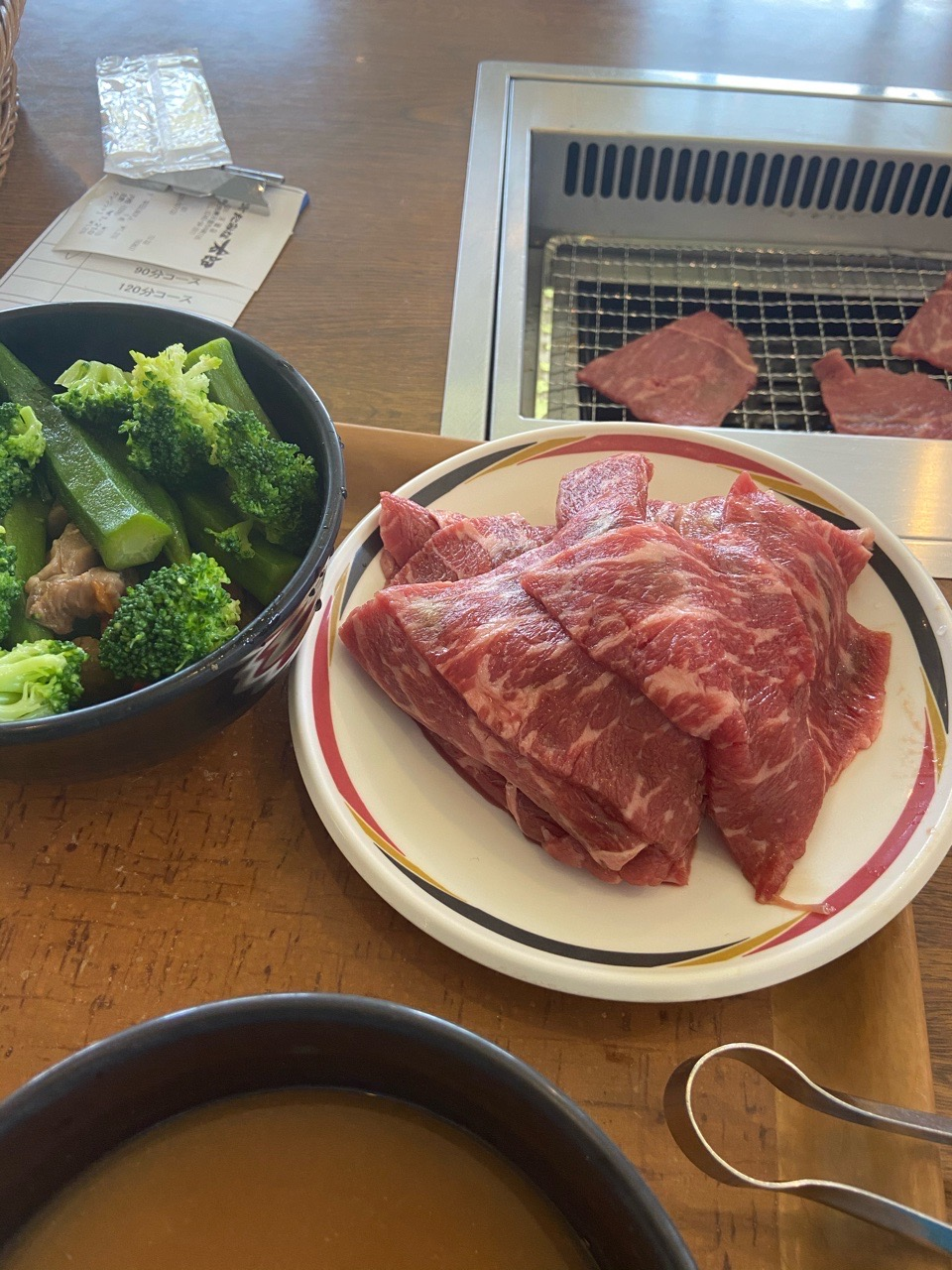 【画像】一人で焼肉食べ放題1200円のスタミナ太郎来たやで
