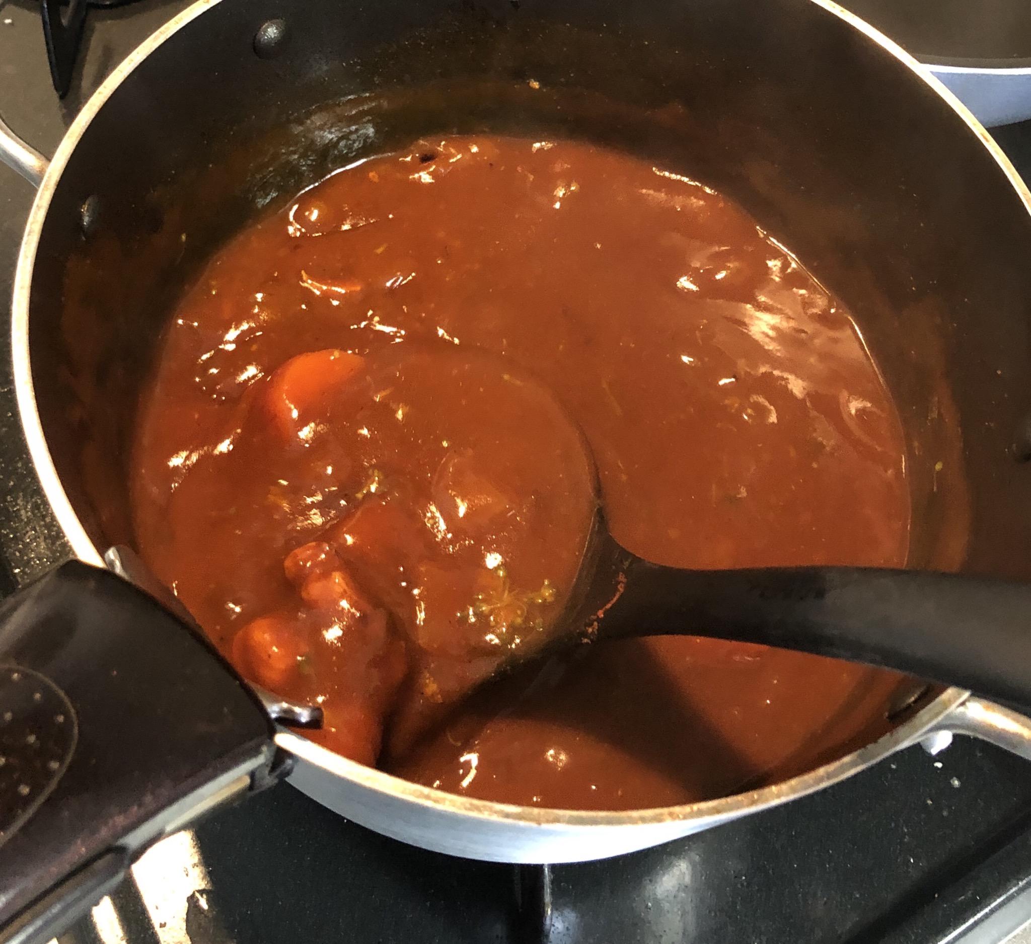【画像】こどおじ僕、特製カレーを作るwwwwwww