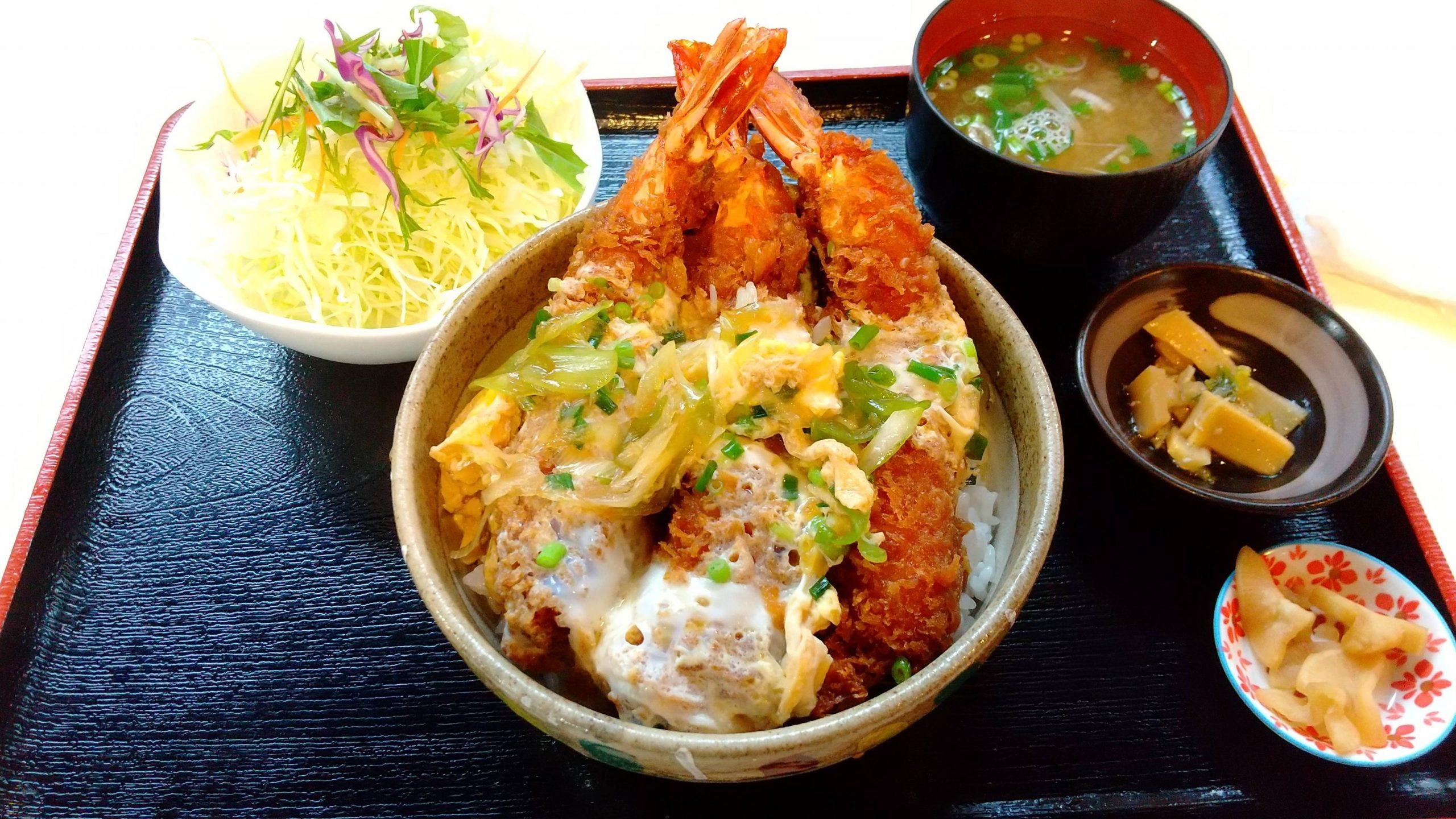 1900円のエビ丼食べてきた
