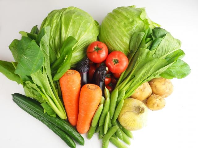 1日に採るべき野菜350g ← 無理だろ