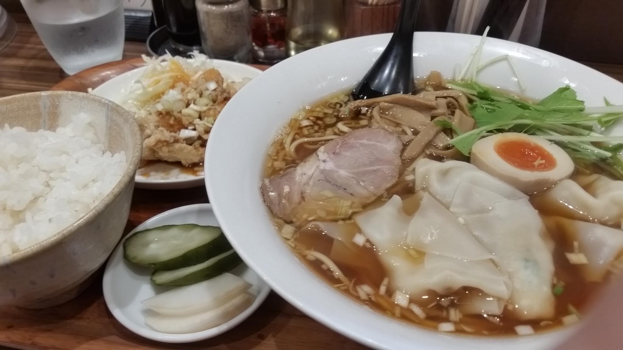 【画像】麺処TESHIに来ました@柏@柏