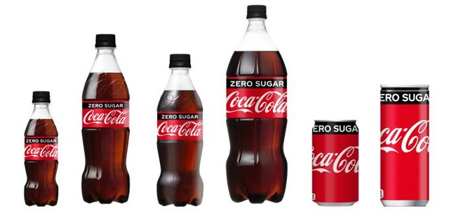 「コカ・コーラ ゼロ」が5年ぶりにフルリニューアル パッケージ刷新 さらに飲みやすく後味スッキリ!