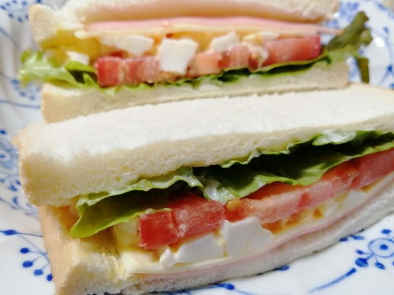 【画像】39歳独身女だけど朝からサンドイッチ作ったよ~♪