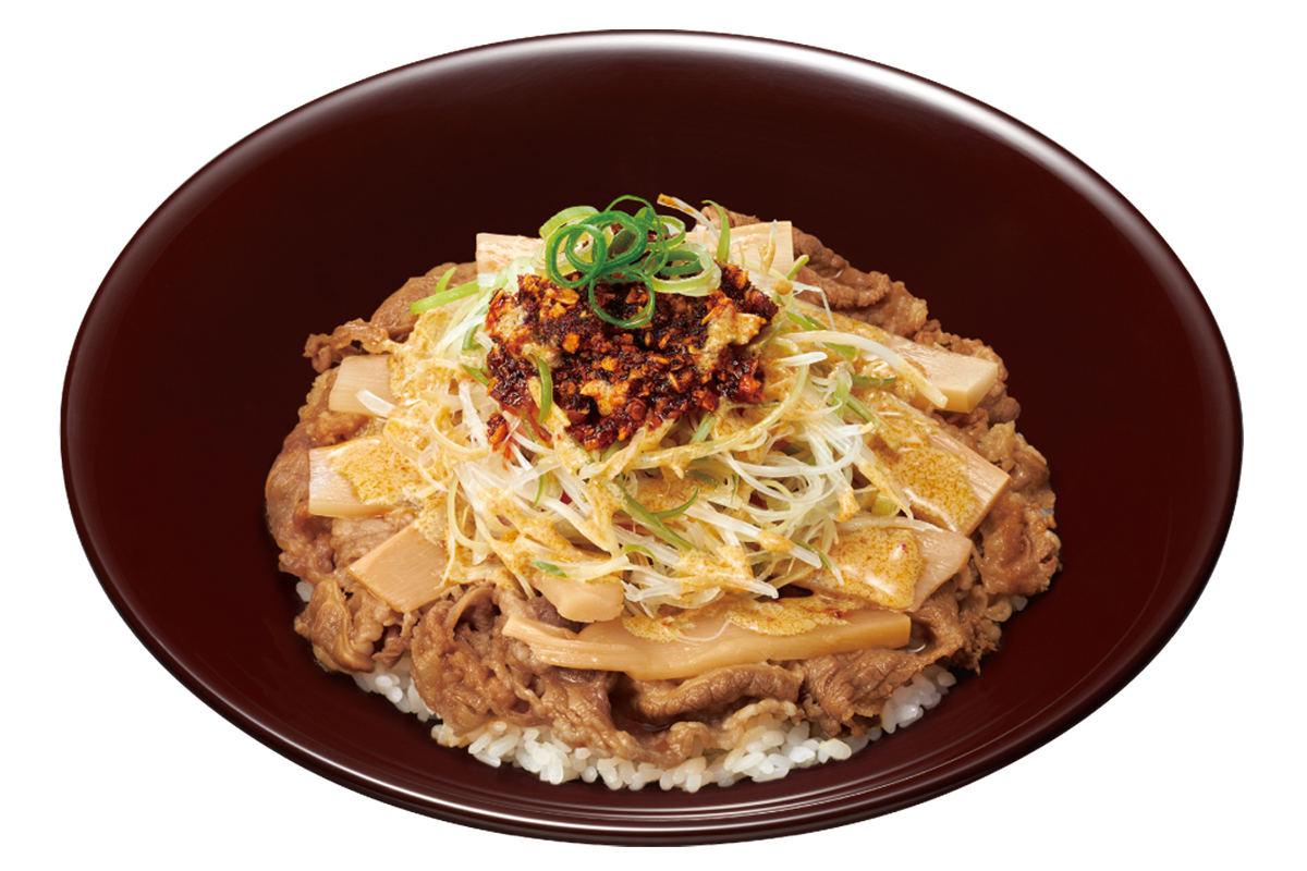 すき家の「食べラー・メンマ牛丼坦々ねぎMIX」美味すぎワロタンポポwwwwww