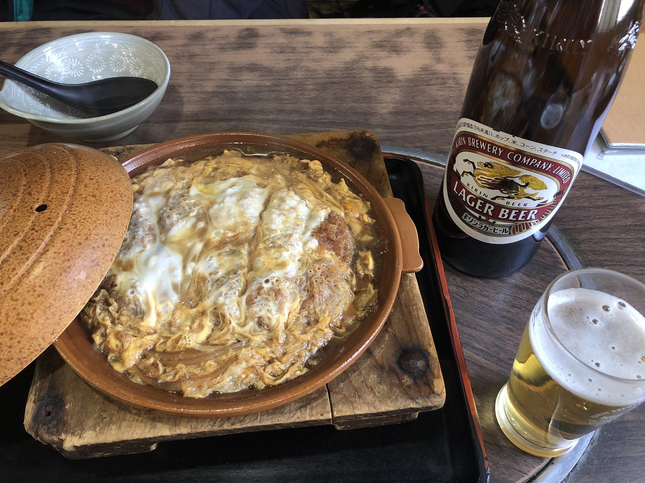 【画像】蕎麦屋のカツ煮
