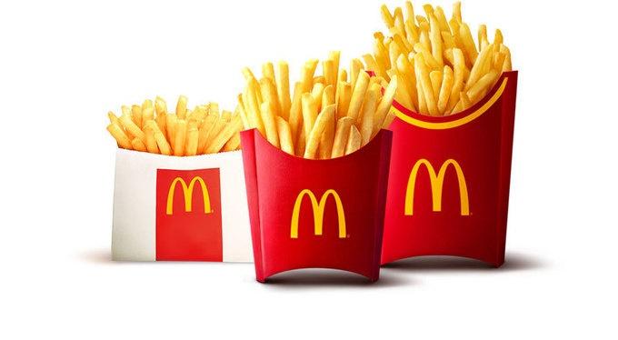 【悲報】マクドナルドのポテト、劣化が早すぎるw
