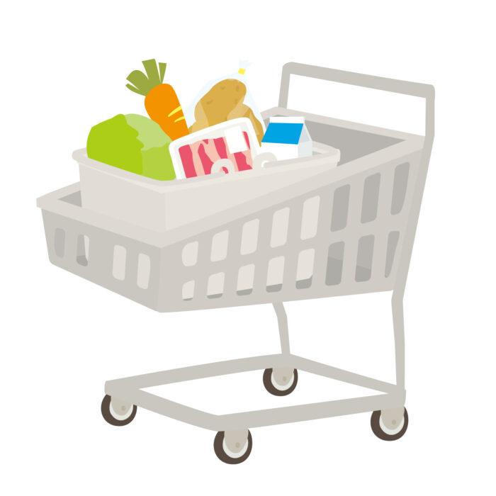 ワイスーパーでお菓子や冷凍食品や肉を買うだけで物欲が満たされる…