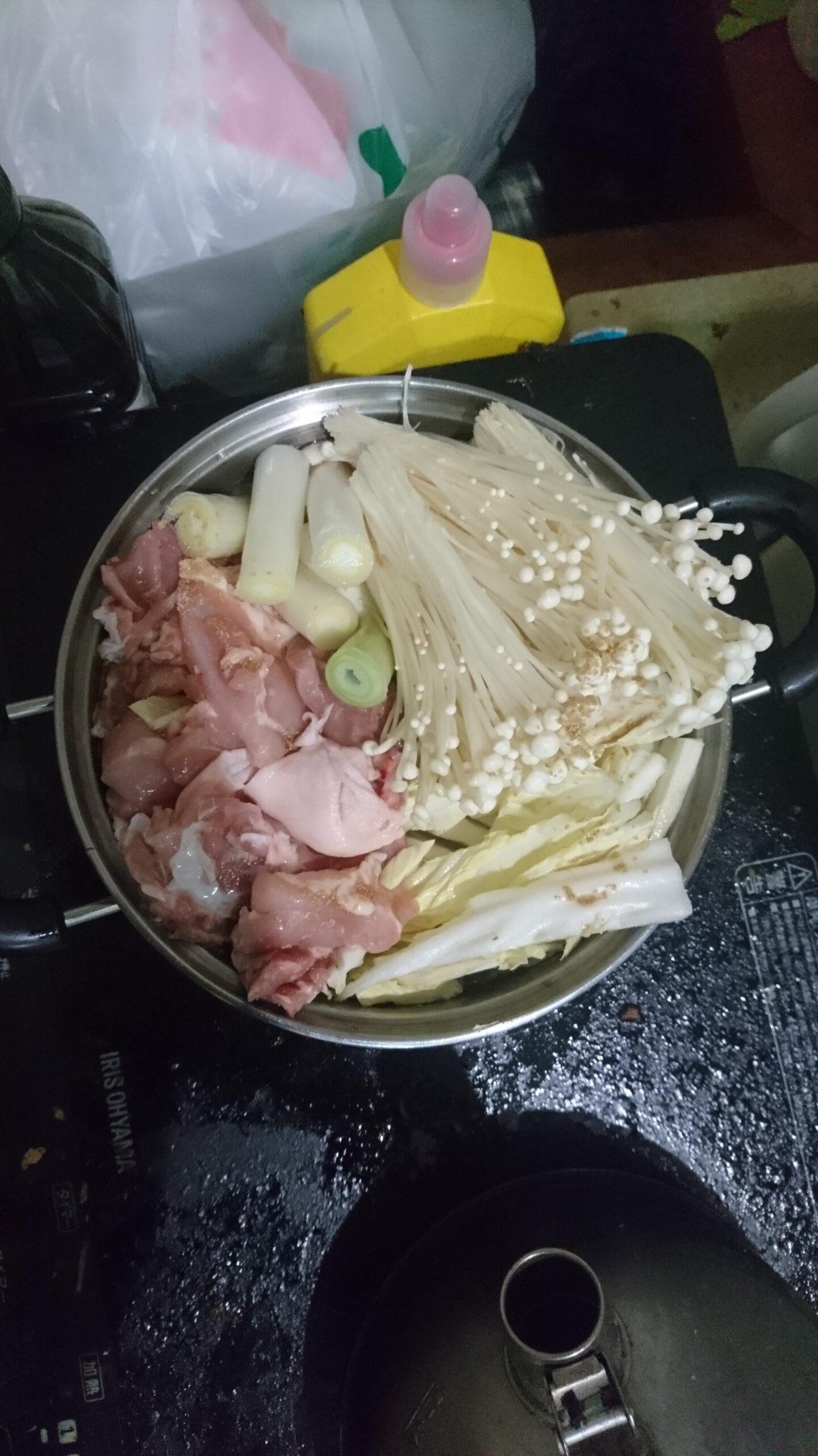 【画像有】水炊き作ったよー