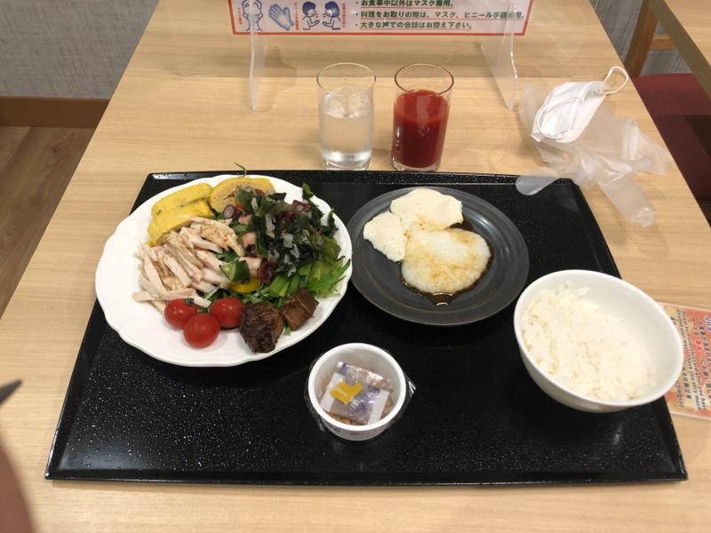 【画像】ワイ出張民ビジホで朝食