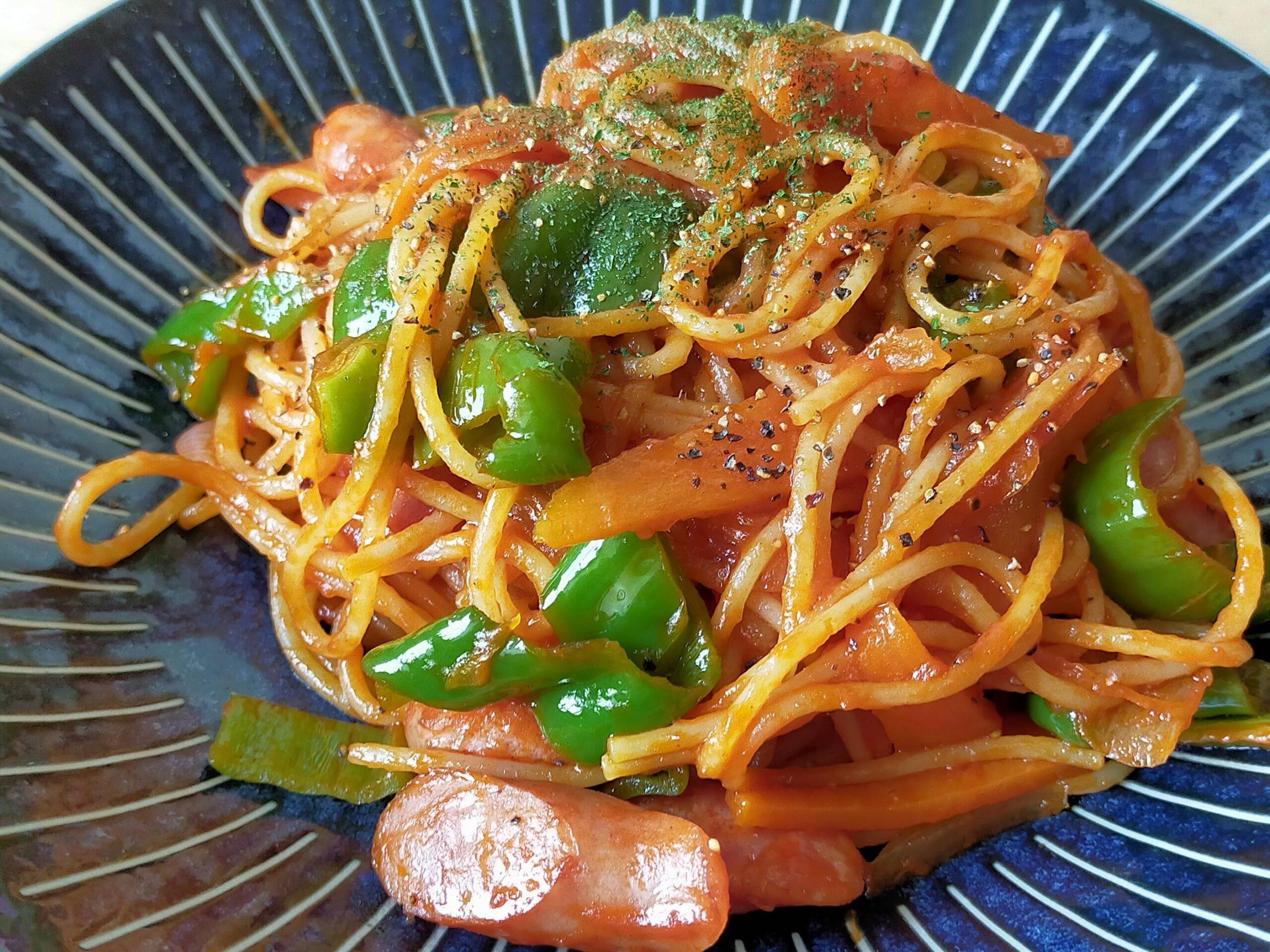 【画像】ぼくくん、昼食においしそうすぎる「スパゲティ・ナポリタン」を作ってしまうwwwwwwwwwwwwww