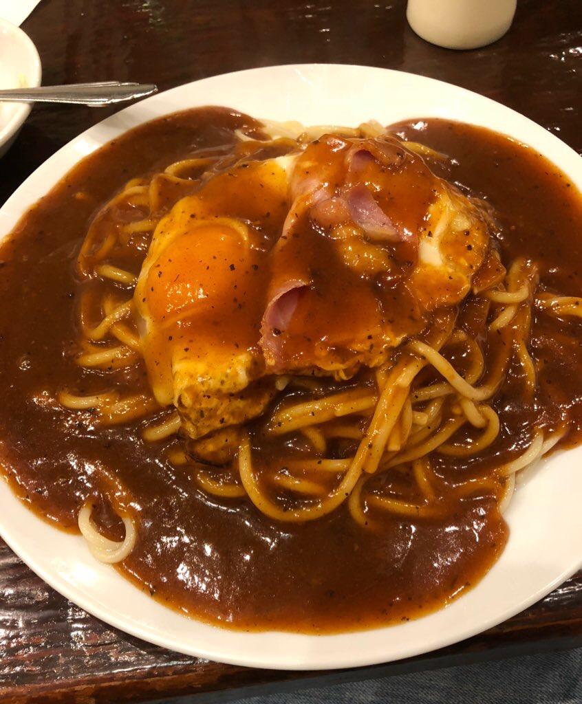 あんかけスパゲッティという名古屋飯